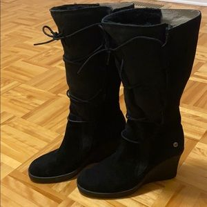 REDUCED UGG Australia Elsey Corset Wedge Boots
